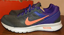 NIKE AIR RELENTLESS 5 SIZE 11M WOMENS NEW GRAY & PURPLE RUNNING SHOES