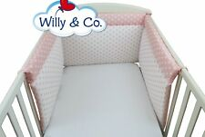 Paracolpi Willy & Co rosa a pois su tre lati sicurezza per infanzia