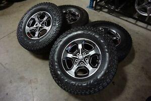 "17"" Jeep Gladiator JT Factory OEM Gray Wheels Rims Tires Wrangler JK JL 9236"