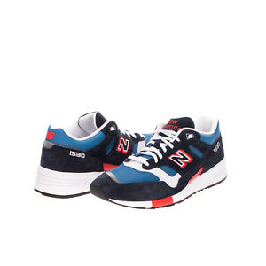 RRP €125 NEW BALANCE 1530 Running Leather Sneakers Size 45.5 UK 11 US 11.5 Logo