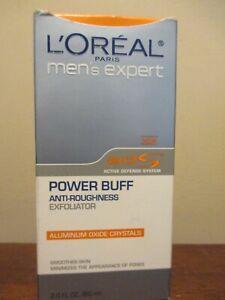 L'Oreal Mens Expert Power Buff Anti-Roughness Exfoliator 2 oz