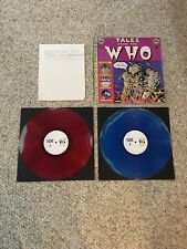 THE WHO-TALES FROM THE WHO TMOQ 62002Q LIVE 2 LP'S MULTI COLORED VINYL VERY RARE