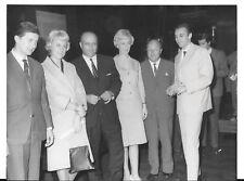 EWY ROSQVIST URSULA WIRTH JUAN MANUAL FANGIO MERCEDES 220 E 1962 PHOTOGRAPH