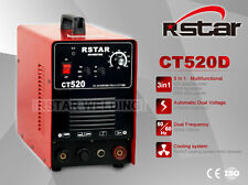 Rstar Ct520 DC Plasma Cutter Tig Stick Welder 3in1 Combo Welding Machine 220v