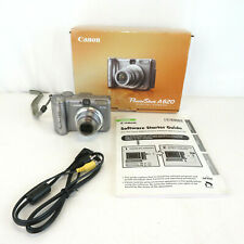 Canon PowerShot A620 7.1MP Digital Camera w box - NO SD card or software