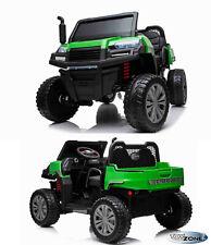 Kinderfahrzeug 12V Kinder Elektro Auto LOADER 2 x 12V Zweisitzer MP3 USB Leder