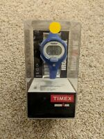 TIMEX CORPORATION T5K784 TIMEX IRONMAN 10 LAP MID SIZE WATCH - BLUE