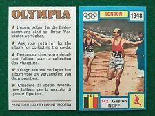 OLYMPIA 1972 n.142 Gaston REIFF BELGIO ATLETICA , Figurina Sticker Panini (NEW)