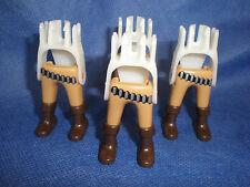 PLAYMOBIL Western ACW 4 x gamba Gamba coppie CARTUCCE cintura articolazioni MATTONCINI Top