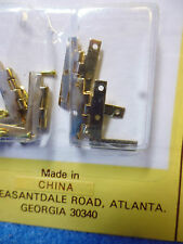 "SOLID BRASS HL"" HINGES with 28 NAILS 4pcs   HW1132"