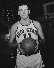 1961 Ohio State JERRY LUCAS Glossy 8x10 Photo College Basketball Portrait Poster
