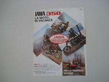 advertising Pubblicità 1981 MOTO JAWA 350 / VELOREX