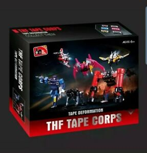 THF-01P6 Soundwave Tape Corps 6PCS Transformers Masterpiece US Seller NEW MP-13