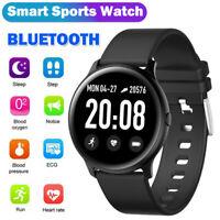 Waterproof Smart Watch Oxygen Heart Rate Blood Pressure Monitor ECG Sports Watch