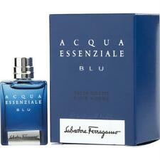 ACQUA ESSENZIALE BLU Salvatore Ferragamo 0.17oz EDT Splash Men Mini Travel (BA05
