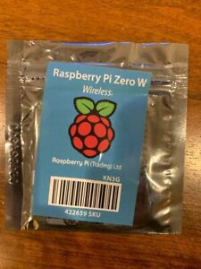 Raspberry Pi Zero W - NEW, SEALED, BOARD - Great for projects, Linux and more!