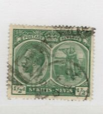 1920 St Kitts-Nevis  SC #24 GEORGE V  used stamp