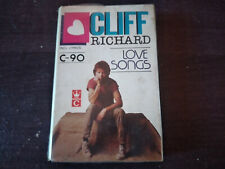 CLIFF RICHARD - Love Songs CASSETTE TAPE / Made In Indonesia
