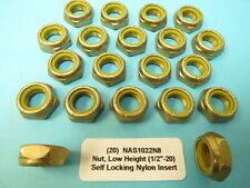 #4-40 NAS679A04W Nut 250 each Self-Locking National Aerospace Aircraft