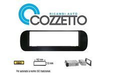 Mascherina autoradio stereo adattatore ISO Nero lucido Panda dal 2012 03215