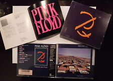 Pink Floyd A momentay lapse of reason Rare Japan special edition box insert