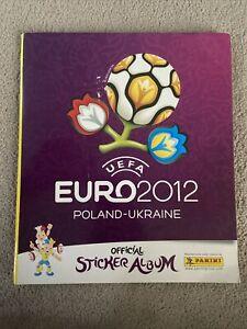 Euro 2012 Poland/Ukraine Panini Football Sticker Album - 100% COMPLETE