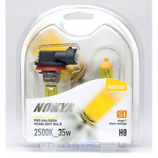 Nokya H8 Hyper Yellow Stage 1 Headlight Halogen Light Bulb - Chevy Fog Light