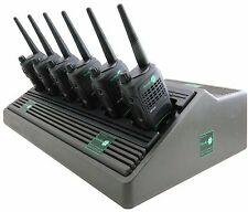 MOTOROLA GP320 VHF 5 WATT WALKIE-TALKIE TWO WAY RADIOS x 6 FARMING & GAMEKEEPER