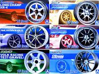 Aoshima 1/24 Tuned Parts Series Wheels Plastic Model Kit