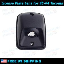 1x Black Rear LH/RH Bumper License Plate Light Lens for 1995-2004 Toyota Tacoma