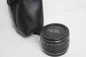 Teleplus 2x Teleconverter for Canon EOS EF lense C-AF1 MC7