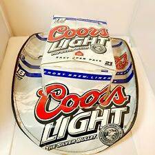 Coors Light Officially Licensed 2007 Beer Box Cowboy Hat Cardboard