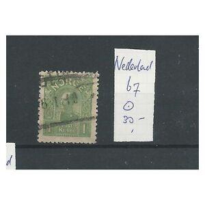 Noorwegen 67 Haakon VIII  1 Kr  mooi VFU/gebr  CV 30  €