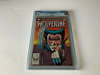 WOLVERINE LIMITED SERIES 1 CGC 9.6 WHITE PAGES 1ST SOLO BOOK MARVEL COMICS 1982