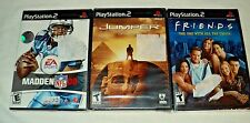 Playstation 2 Lot of 3 Games Friends Jumper & Madden 08 All NEW Sealed PS2
