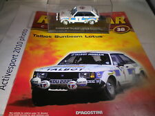 deagostini rally car collection Issue 38 1981 Sunbeam Talbot Guy Frequelin Jean