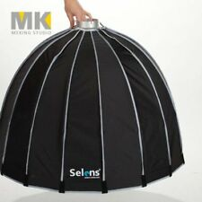 90cm Hexadecagon Umbrella flash studio diffuser Softbox + Bowens Mount + Bag