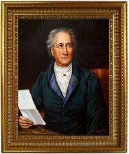 Ölbild Johann Wolfgang Goethe-Karl Stieler Ölgemälde HANDGEMALT,Oelbild 50x60cm