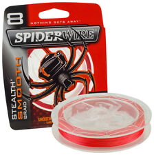 Spiderwire Stealth Smooth 8 Red 150mt 0 08mm