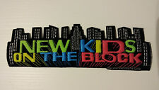 New Kids on The Block NKOTB Vintage patch superstrip large music boy band