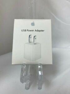 Brand New Apple OEM 5-Watt Power Adapter Wall Socket For Apple iPhone 6 7 8 X XR