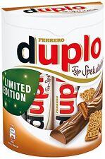 (100g=1,92�'�) Ferrero Duplo Spekulatius Limited Edition Schokoriegel 10 Riegel
