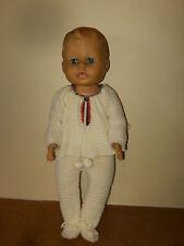 Ancienne poupée / vintage doll - PETIT GARÇON 56CM - yeux dormeurs - marque ??