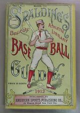 1912 Spalding's Official Baseball Guide