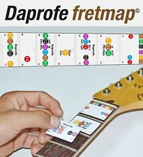 DAPROFE Fretboard Note Map Right Hand Electric/Acoustic Guitar 22 Guide Stickers