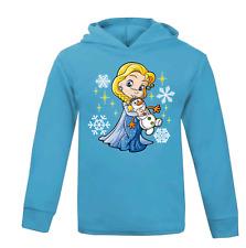 Elsa Kids Lightweight Hoodie Novelty Children's Hoody Frozen Disney Princess