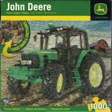 John Deere Tractor Mosaic 1000 Piece Jigsaw Puzzle - # 71101 - NIB