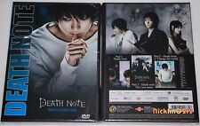 DEATH NOTE Live Action Movie Complete Collection #1 2 3 Uncut English dub DVD US