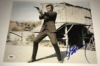 CLINT EASTWOOD Signed DIRTY HARRY 11x14 Photo In Person Autograph PSA LOA