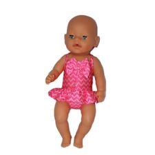 Puppenkleidung, Badeanzug, pink, 43 cm, zb. Baby Born/Sister, NEU
